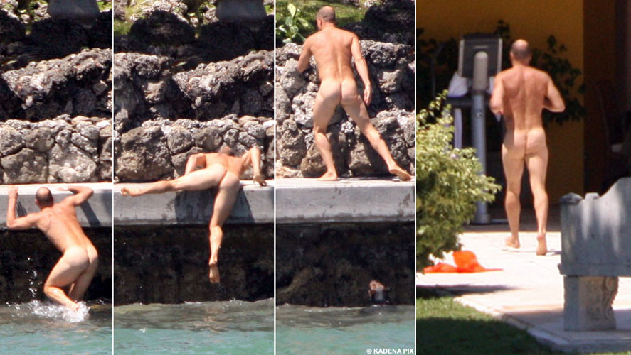 WOODY Healthier ahd happier, Owen Wilson takes a dip with ex girlfriend Carolina ...